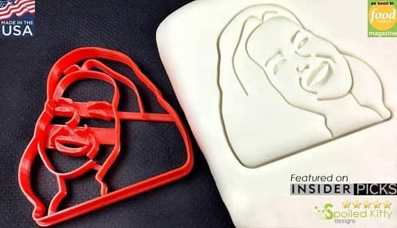 face cookie cutter
