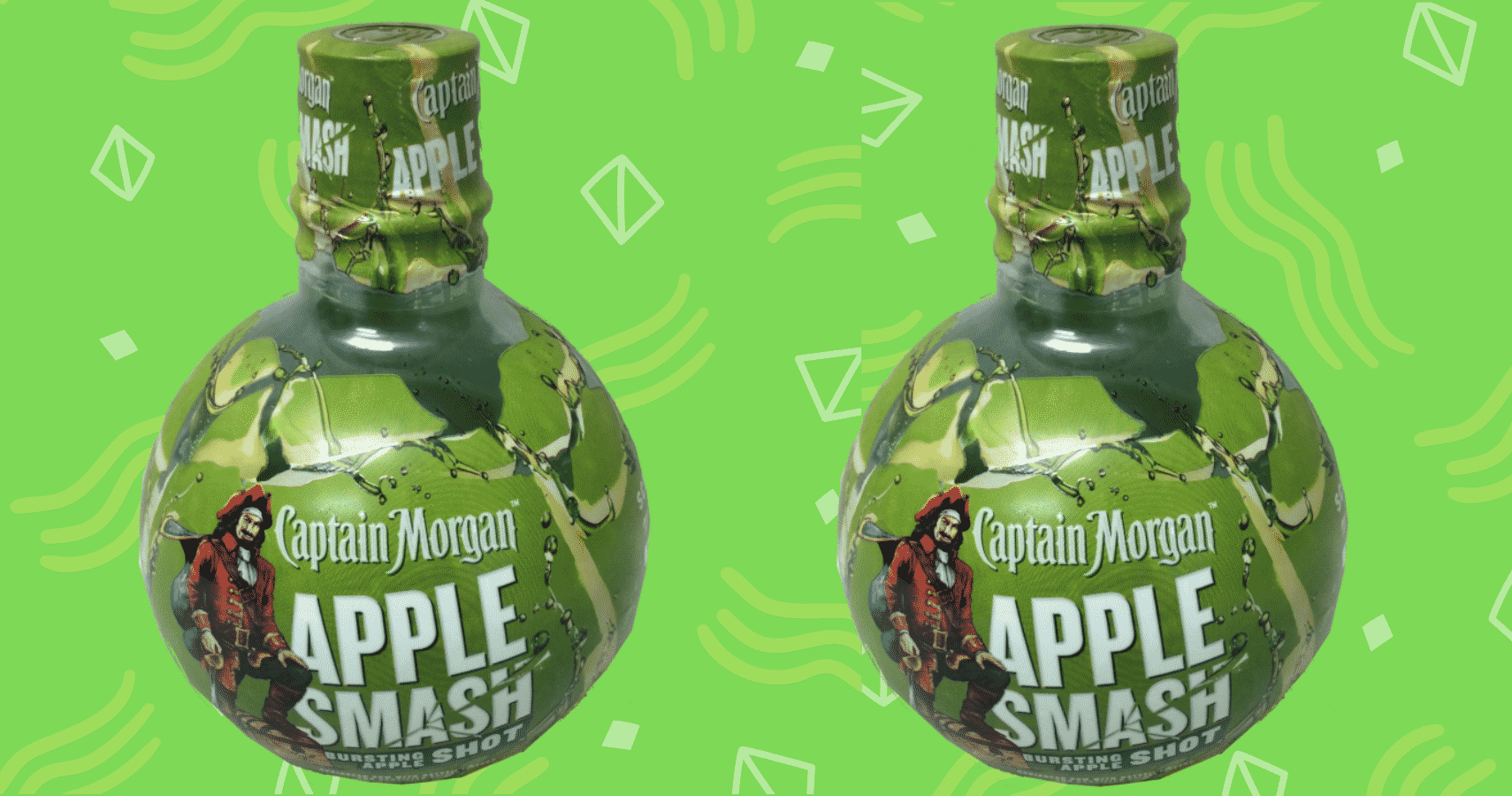 Captain Morgan's Apple Smash