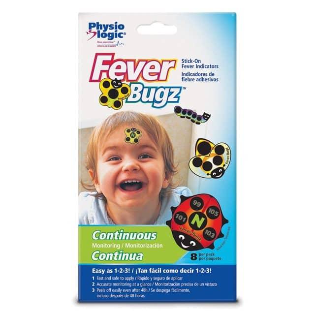 Physio Logic's Fever-Bugz Stick-On Fever Indicators