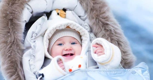 baby stroller winter