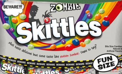 Skittles zombie flavor