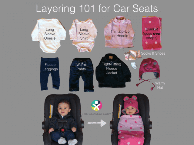 cold weather car seat safety