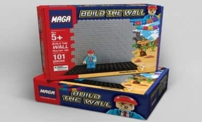 build the wall lego knockoff