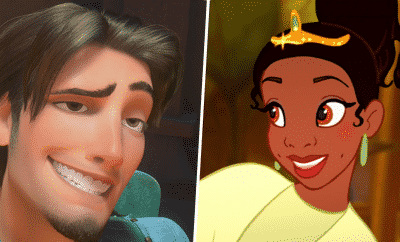 Disney Tiana and Flynn