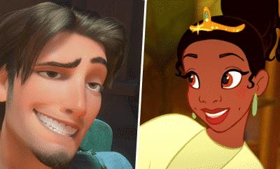 Disney Tiana and Flynn