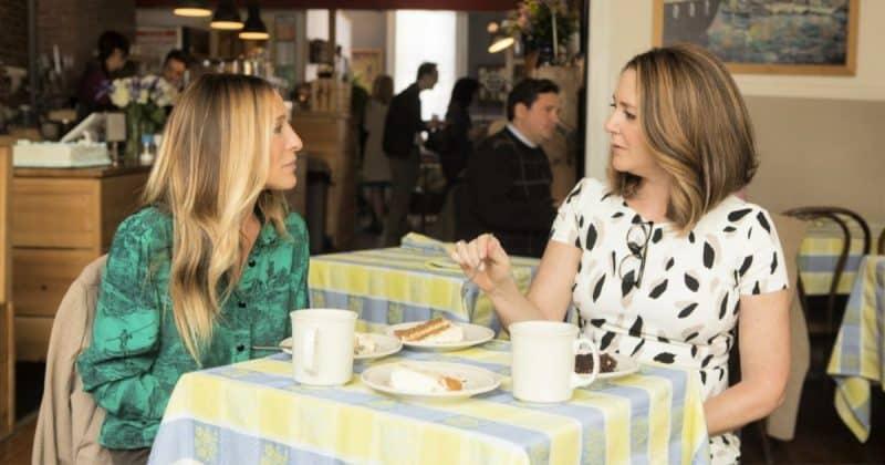 HBO Divorce two women talking