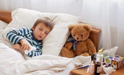 child sick cold