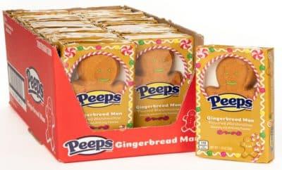 peeps giant gingerbread man