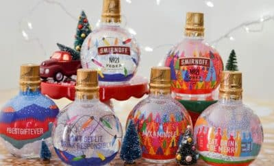 Smirnoff ornament