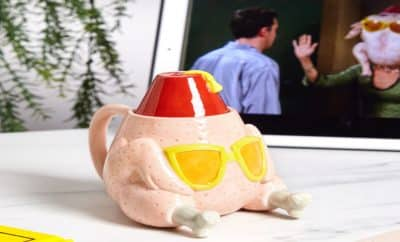 friends-inspired turkey mug