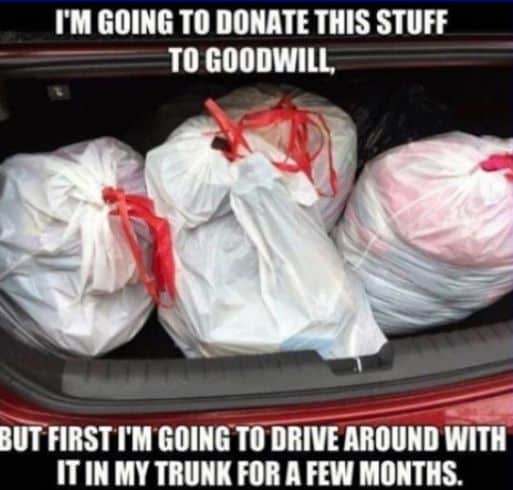 Goodwill, Donations, Bags