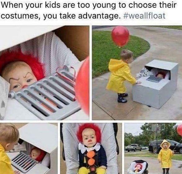 Halloween Costumes, Kids, IT