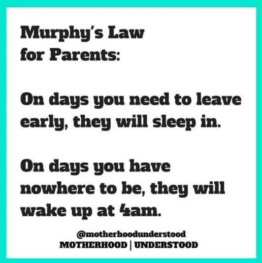 Murphy's Law, Kids, Wake Up
