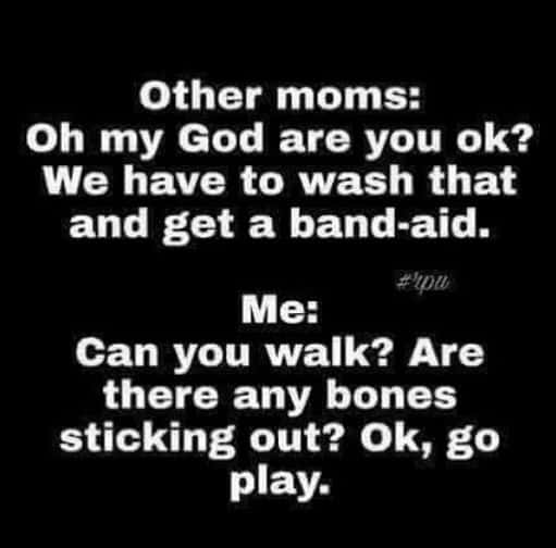 Kids, Playing, Other Moms