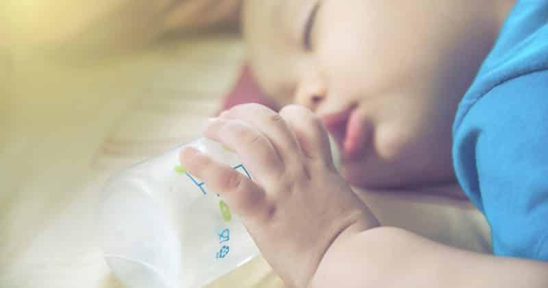 baby sleeping bottle