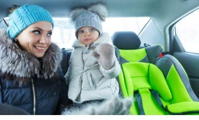 winter safety car seat