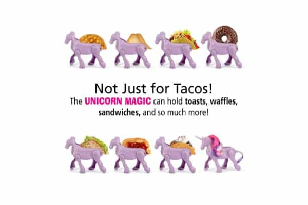 Barbuzzo Unicorn Taco Holder Display