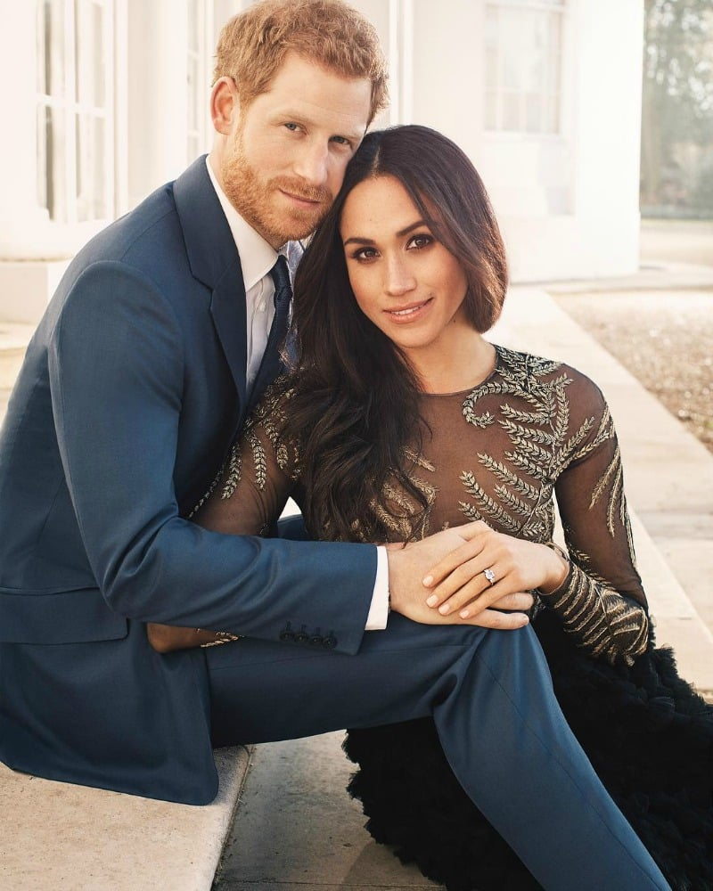Prince Harry and Meghan Markle engagement photo official