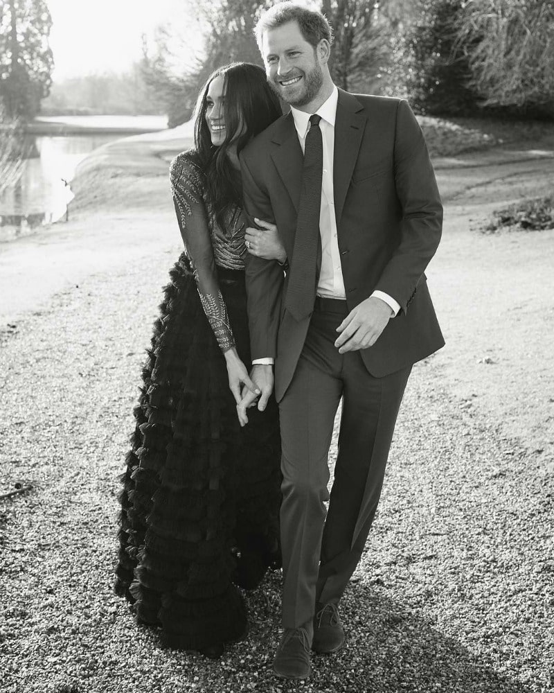 Prince Harry and Meghan Markle engagement shoot