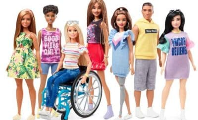 barbie inclusive fashionistas