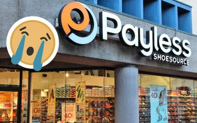 2019 Bankrupt Stores payless shoe source