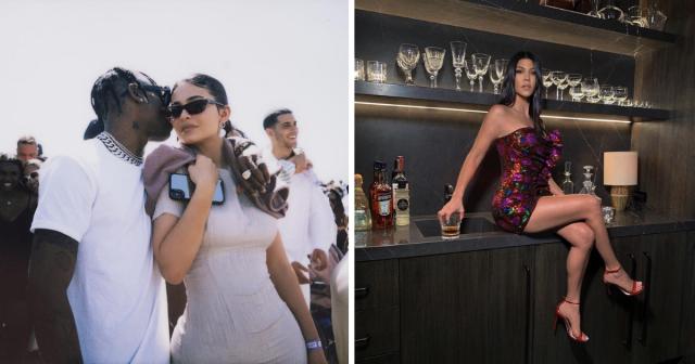 kardashians then and now