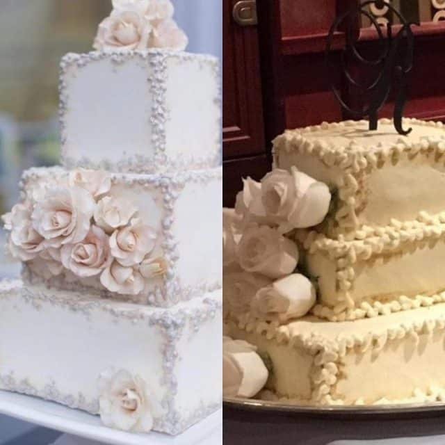 crappy wedding cakes