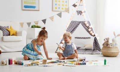 at home activities for toddler