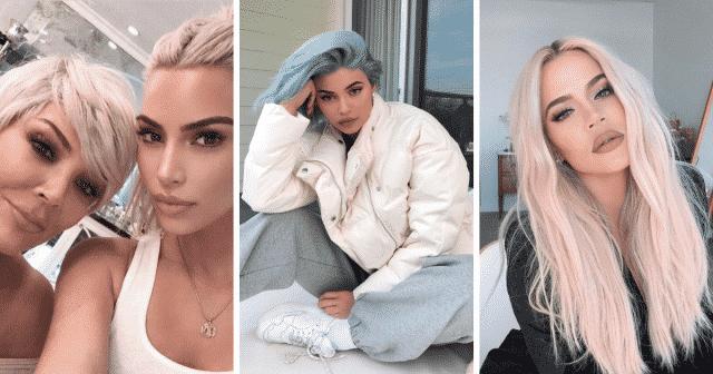 kardashian then and now