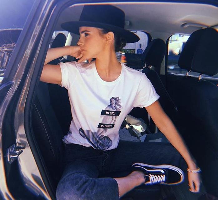 Most Popular Baby Names 2018 Emma Watson Posing In Car Instagram
