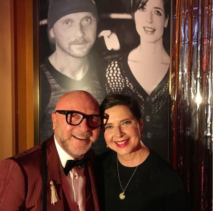 Most Popular Baby Names 2018 Isabella Rossellini Selfie With Domenico Dolce Instagram