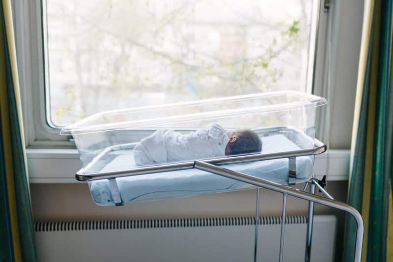 newborn hospital baby