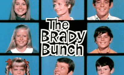 The Brady Bunch Opening Credits Squares