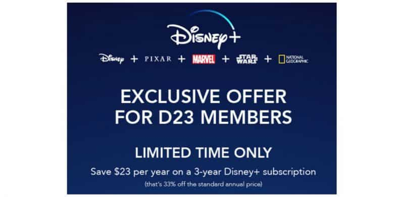 Preorder Disney Plus for less than $4/month
