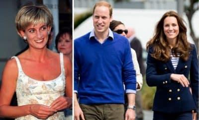 Prince William Kate Middleton Princess Diana