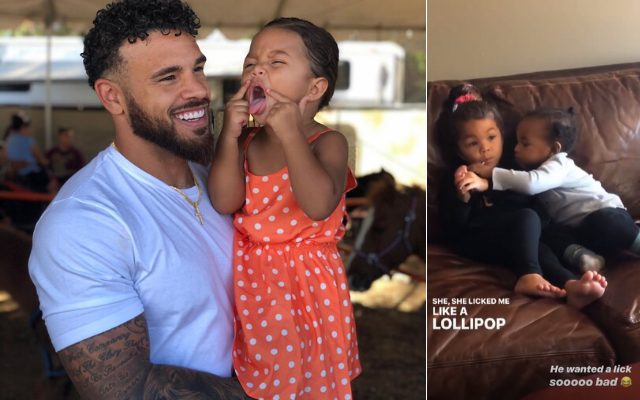 Cory Wharton Ryder Instagram Story Lollipop Inappropriate