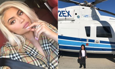 kylie jenner mom faux pas dream on helicopter no mom permission