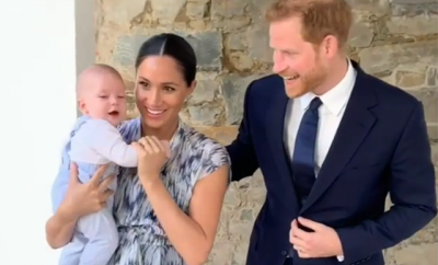 Meghan Markle Mom Shamed Holding Baby Archie Wrong During Walk Dogs