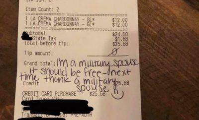 Military spouse wants free stuff