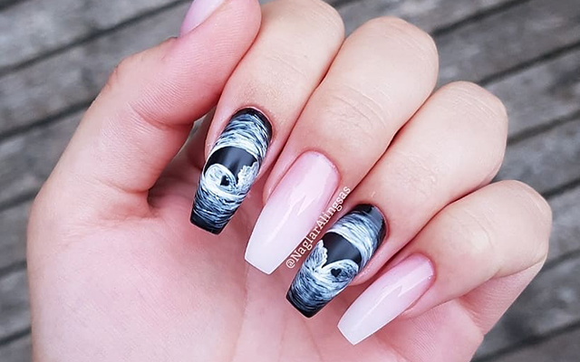 Ultrasound Nail Art Lets Moms-To-Be Bring Sonogram Images Everywhere They Go