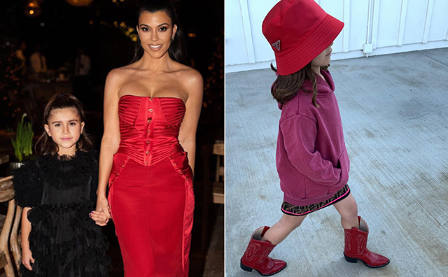 Penelope Disick picks her own outfits to be herself
