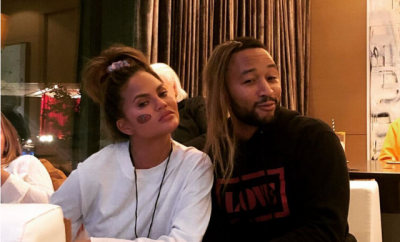 Chrissy Teigen John Legend Breaking UP Joke