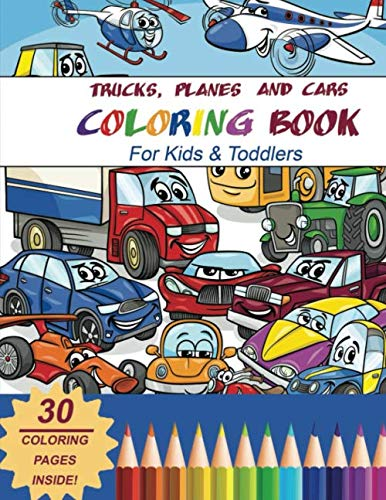 best vehicle coloring books